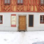 Restaurace v zimě