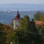 Kostely v Kostelní Bříze a Chlumu sv. Maří